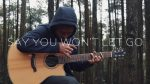 James Arthur — Say you wont let go(Iqbal Gumilar), finger tab