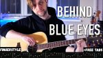 Limp Bizkit — Behind Blue Eyes, finger tab