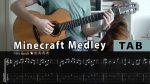 OST Minecraft medley, fingers tab (PDF)