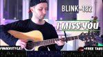 Blink 182 — I Miss You, finger tab