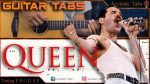Queen — We Will Rock You, finger tab