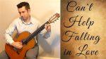 Elvis Presley — Can't Help Falling In Love fingerstyle tabs (Michael Silva)